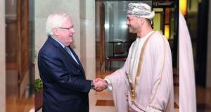 السلطنة تبحث مع الأمم المتحدة سبل إنهاء الصراع في اليمن