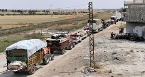 مئات السوريون يعودون لبيوتهم بريفي حلب وإدلب