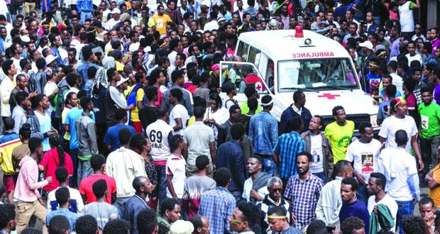 السلطنة تدين التفجير الإرهابي بأثيوبيا