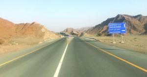 """""""النقل والاتصالات"""" تفتتح الحركة المرورية بطريق مدحاء الداخلي بطول 11 كيلومتراً"""
