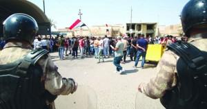 مقتل شرطي عراقي بانفجار في كركوك