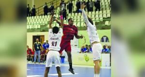 منتخبنا الوطني للشباب يخسر أمام نظيرة القطري ويحتل المركز الثامن في البطولة الآسيوية لليد بصلالة
