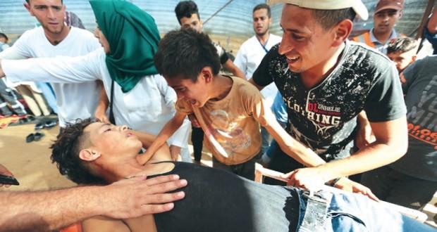 اقتحامات بالأقصى .. وشهيدان وعشرات الجرحى في غزة