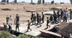 الجيش السوري يتقدم في ريف درعا على وقع محادثات كردية مع الحكومة