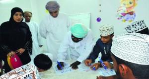 """اختتام دورة """"الخط العربي"""" بجمعية المرأة العمانية بالمصنعة"""