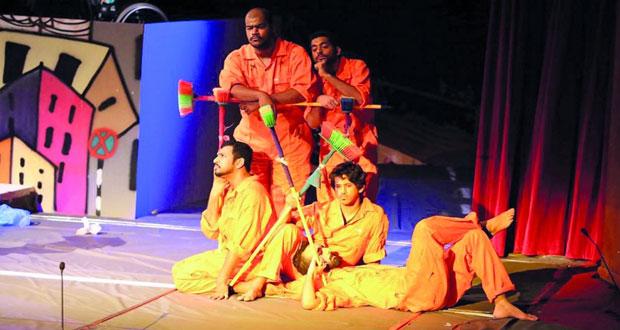 مسرحية «الميدان» لفرقة «الفن الحديث» تقدم تجارب جديدة من الممثلين وتقدم رسالتها فـي العرض