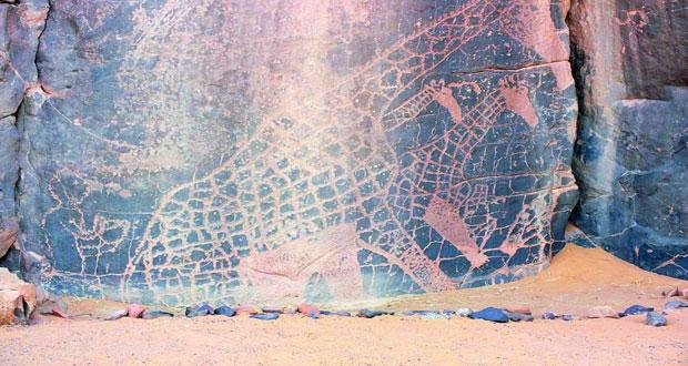 رسومات التاسيلي الجزائرية تكشف تفاصيل مستوطني الشمال الإفريقي الأوائل