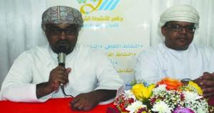 شعراء عمانيون يحيون أمسية شعرية بمحافظة بجنوب الباطنة