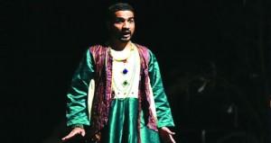 عمران الرحبي يحصل على جائزة أفضل ممثل مسرحي كفيف على مستوى الوطن العربي