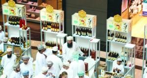أكثر من 75 ألف ريال عماني مبيعات سوق العسل العماني العاشر