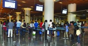 أكثر من 6.6 مليون مسافر بمطاري مسقط وصلالة حتى نهاية مايو