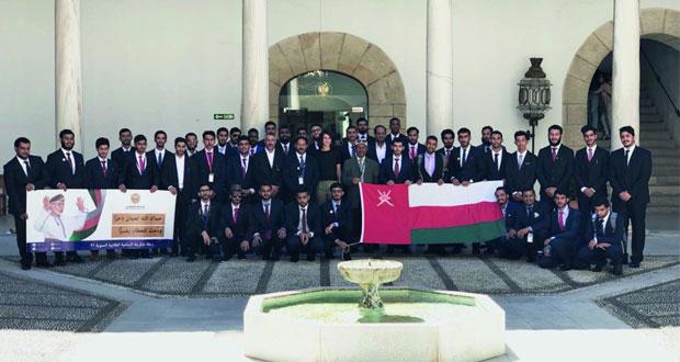 طلبة جامعة السلطان قابوس يزورون معالم أسبانيا