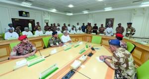وزير الإعلام يرعى ختام التمرين الاستراتيجي (صنع القرار ـ 5) بكلية الدفاع الوطني