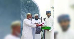 الإحتفال بتكريم الفائزين في مسابقة حفظ القرآن الكريم بولاية بركاء