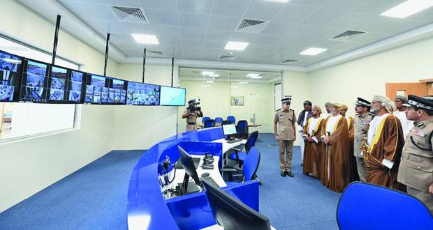 شرطة عمان السلطانية تحتفل بافتتاح المبنى الجديد لمركز شرطة طاقة