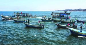 سلطات الاحتلال تعاقب غزة بإغلاق (كرم أبو سالم) وتقليص مساحة الصيد