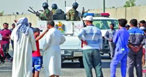 العراق: محتجون يتجمعون عند المدخل الرئيسي لحقل الزبير النفطي