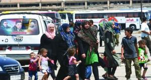 سوريا: بعد انتهاء تأمين أهالي كفريا والفوعا .. اللاذقية تستقبل المحررين من اشتبرق