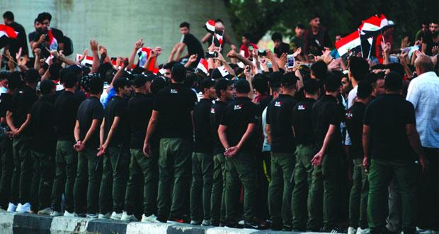 العراق: دعوات للإسراع بتشكيل حكومة على وقع احتجاجات ليلية جديدة