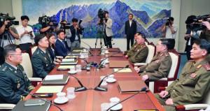 الكوريتان تجريان محادثات عسكرية .. وواشنطن ترصد نشاطا بمصنع صواريخ قرب الشمالية