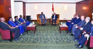 مصر تؤكد على التنسيق الدائم مع السودان لدعم المصالح المشتركة