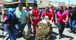 سوريا: مجاميع المسلحين يواصلون تسليم أسلحتهم للجيش بريف القنيطرة