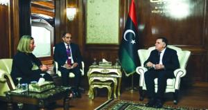 ليبيا: حكومة الوفاق تبحث في أوروبا دعم العملية السياسية