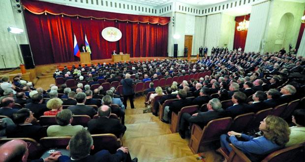 روسيا: البرلمان يناقش (رفع سن التقاعد) .. وسط احتجاجات