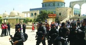 أكثر من الف مستوطن يقتحمون (الأقصى) والاحتلال يعسكر القدس