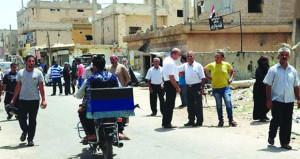 الجيش السوري يتقدم في حوض اليرموك ويقطع طرق الإمداد عن الإرهابيين