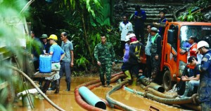 تايلاند : فرق البحث تستعد لإنقاذ فتية محاصرين في كهف .. والأمطار تهدد المهمة