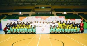 افتتاح معسكر شباب الأندية بمحافظة مسقط في أولى المعسكرات الصيفية