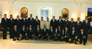 فريق قوات السلطان المسلحة للرماية يصل السلطنة بعدد 39 كأسا و194 ميدالية