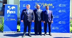 الكشري يشارك في افتتاح المقر الجديد للاتحاد الدولي للسباحة في لوزان