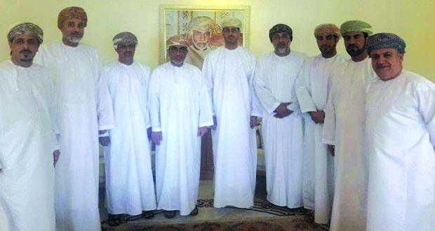 وزير الشـؤون الرياضية يلتقي رئيس اتحاد الكرة وبعض رؤسـاء الأندية الرياضية