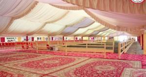 اكتمال كافة الاستعدادات لانطلاق مهرجان صحم الرابع لمزاينة الحيران 2018م الجمعة القادم