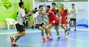 اليابان تواجه كوريا الجنوبية في ختام البطولة الآسـيوية السـادسـة عشـرة للشـباب لكرة اليد