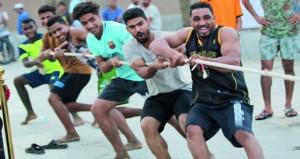 مشاركة مميزة في اليوم الرياضي الترفيهي لبرنامج صيف الرياضة بالسيب