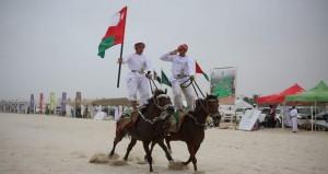 اتحاد الفروسية يختتم أنشطته ضمن مهرجان صلالة السياحي