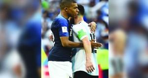 فرنسا تطيح بالأرجنتين