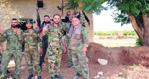الجيش السوري يوسع نطاق السيطرة في حوض اليرموك