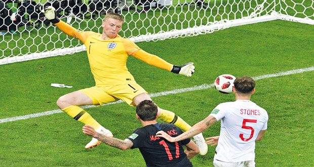 مونديال 2018 : كرواتيا تلاقي فرنسا في النهائي