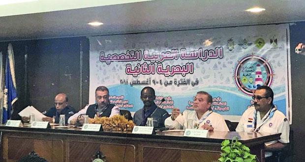 كشافة السلطنة تختتم مشاركتها في الدراسة العربية الكشفية التخصصية البحرية الثانية بمصر