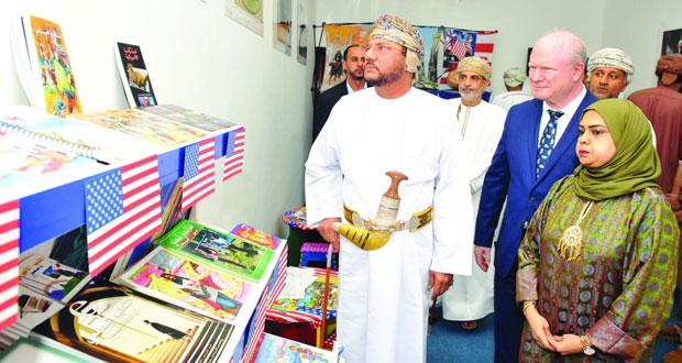 افتتاح الجناح الثقافي للسفارة الأميركية بمهرجان صلالة السياحي