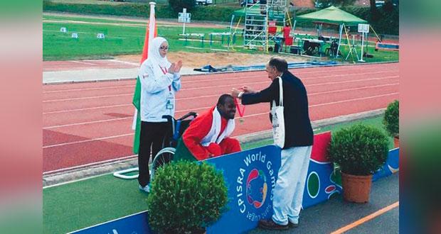 إنجاز بارألمبي عماني جديد