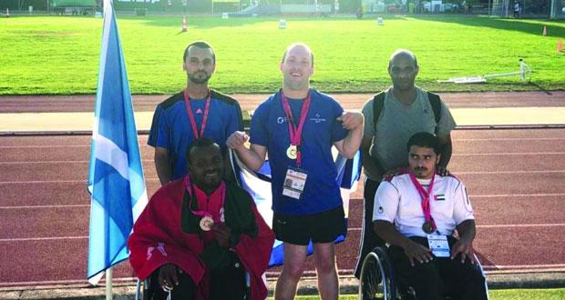 المشايخي يحقق الميدالية الثانية للسلطنة