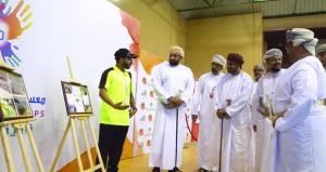 افتتاح فعاليات معسكر شباب الأندية بمحافظة ظفار