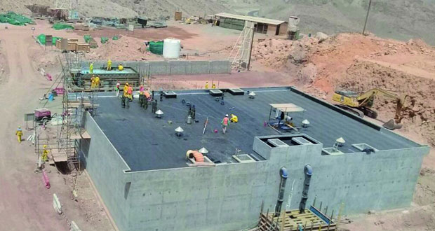 إنجاز 64% من مشروع إنشاء شبكات توزيع المياه في بوشر الحزمة الأولى