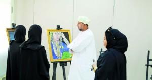 ختام معرض الفنون التشكيلية لدائرة التراث والثقافة بجنوب الشرقية