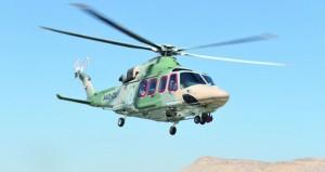 طيران الشرطة تنفذ عملية إنقاذ مواطن بجبل كور